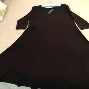 Talbots black sweater dress